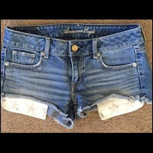 American Eagle star pocket shorts
